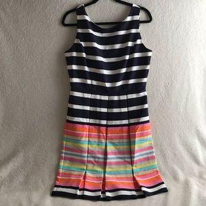 Ronni Nicole Striped Dress, Size 10